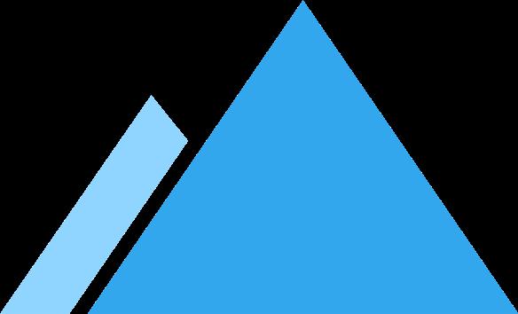 two mountain peaks icon